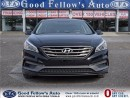 Used 2015 Hyundai Sonata SPORT, PANROOF, LEATHER & CLOTH, CAM, 4CYL, 2.4L for sale in North York, ON