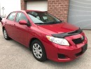 Used 2010 Toyota Corolla SAFETY & E-TESTED - LOW KMS for sale in Cambridge, ON