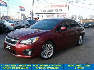 Used 2013 Subaru Impreza Sport Sunroof/Alloys/Btooth/Tinted&GPS*$45/wkly for sale in Mississauga, ON