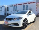 Used 2015 Honda Civic Sedan EX - Lane watch - Sunroof for sale in Mississauga, ON