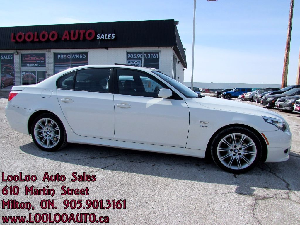 Used 2010 bmw 5 series 535i xdrive m sport pkg auto for Milton martin honda used cars