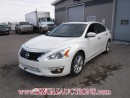 Used 2015 Nissan ALTIMA SL 4D SEDAN 2.5 AT for sale in Calgary, AB