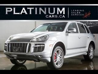 Used 2008 Porsche Cayenne Turbo 500HP AWD, NAVI, SUNROOF, BOSE for sale in North York, ON