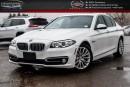 Used 2015 BMW 5 Series 528i xDrive|Navi|Sunroof|Backup Cam|Bluetooth|Keyless Go|18