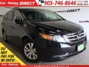 Used 2016 Honda Odyssey EX| BACK UP CAMERA| DVD| TOUCH SCREEN| for sale in Burlington, ON