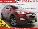 Used 2016 Hyundai Santa Fe Sport 2.4 Premium| AWD| BACK UP SENSORS| POWER SEAT| for sale in Burlington, ON