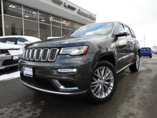 Used 2017 Jeep Grand Cherokee Summit NAVI/DUAL-PANE SUNROOF for sale in Concord, ON