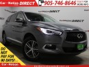 Used 2017 Infiniti QX60 | LEATHER| NAVI| SUNROOF| AWD| BACK UP CAMERA| for sale in Burlington, ON