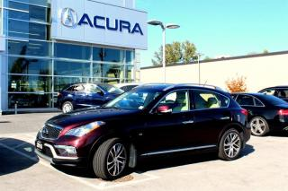 Used 2016 Infiniti QX50 Wagon Premium & Navigation Package for sale in Langley, BC