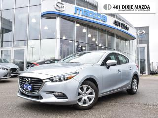 Used 2017 Mazda MAZDA3 GX|1.9% FINANCE AVAILABLE|ONE OWNER|NO ACCIDENTS for sale in Mississauga, ON