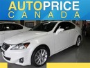 Used 2013 Lexus IS 250 MOONROOF NAVI LEATHER AWD for sale in Mississauga, ON
