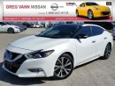 Used 2016 Nissan Maxima Platinum w/all leather,NAV,pan roof,climate,heated/cooled seats,rear cam for sale in Cambridge, ON