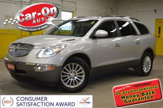 Used 2011 Buick Enclave CXL AWD LEATHER for sale in Ottawa, ON