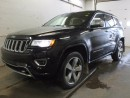 Used 2014 Jeep Grand Cherokee Overland 4x4 - REAR BACK UP CAMERA - DUAL PANE PANORAMIC SUNROOF - HEATED SEATS - GPS NAVIGATION for sale in Edmonton, AB