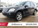 Used 2008 Mercedes-Benz ML-Class ML350 4MATIC NAV MINT CONDITION for sale in Edmonton, AB