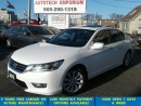 Used 2013 Honda Accord EX-L Prl White Leather/Sunroof/Camera* for sale in Mississauga, ON