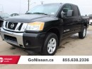 Used 2015 Nissan Titan SV 4x4 Crew Cab SWB for sale in Edmonton, AB