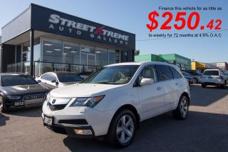 Used 2013 Acura MDX Tech Pkg|ACCIDENT FREE|7 PASSENGER|NAVI|SUNROOF for sale in Markham, ON
