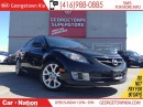 Used 2009 Mazda MAZDA6 GS-I4 LEATHER| SUNROOF| ALLOY WHEELS| HEATED SEATS for sale in Georgetown, ON