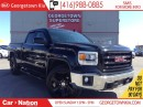 Used 2015 GMC Sierra 1500 SLE BLACK EDITION| LEATHER| BACK UP CAM| ONE OWNER for sale in Georgetown, ON