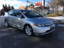 Used 2008 Honda Civic ONLY$4788,5SPD,SAFETY E/T+2YEARS WARRANTY INCLUDED for sale in North York, ON