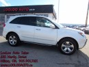 Used 2009 Acura MDX Elite Package Navigation DVD Camera Certified 2YR for sale in Milton, ON