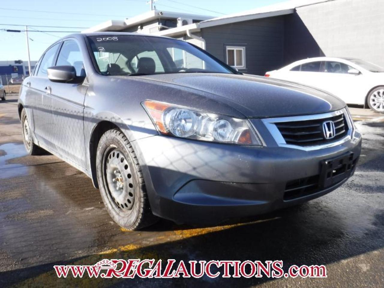 Photo of Grey 2008 Honda Accord