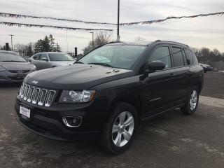 Used 2016 Jeep COMPASS AWD * LEATHER * SUNROOF * POWER GROUP * LOW KM for sale in London, ON