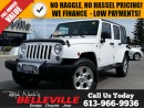 Used 2014 Jeep Wrangler Sahara-Dual Tops-max tow Package for sale in Belleville, ON