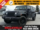 Used 2016 Jeep Wrangler Unlimited Sport-Dual Tops-Navigation for sale in Belleville, ON