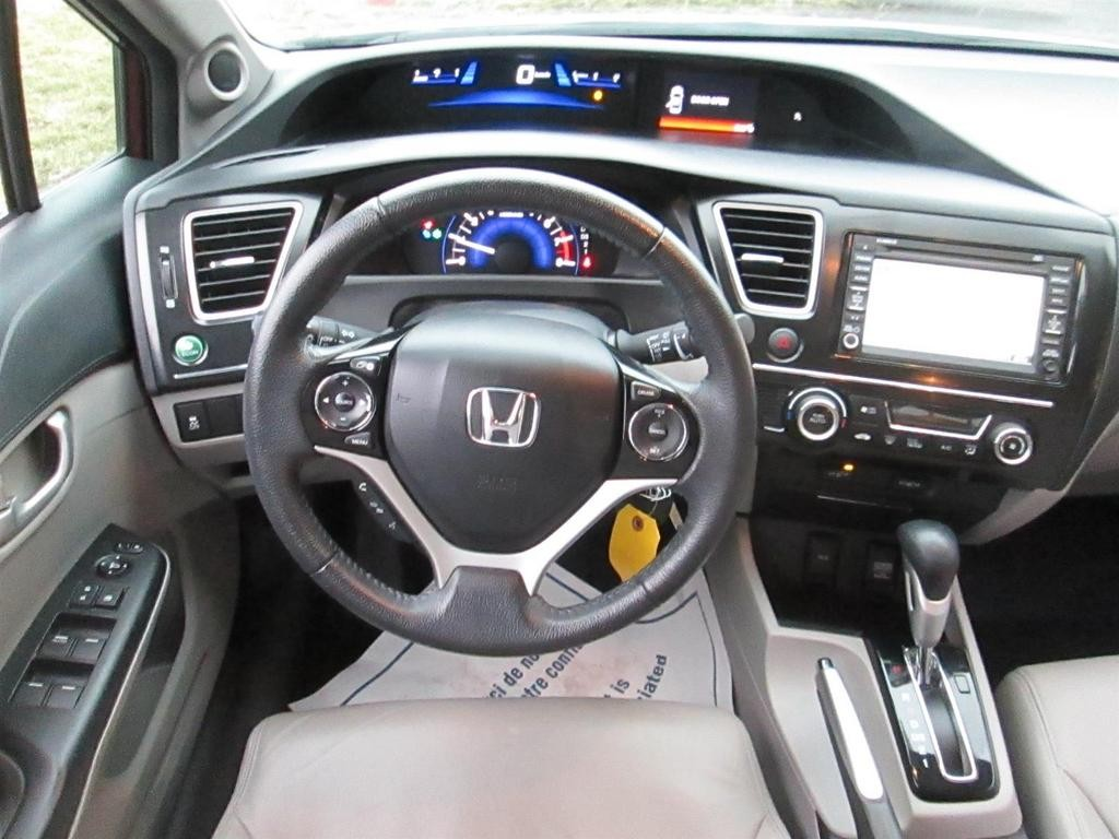 Used 2013 Honda Civic TOURING LEATHER SUNROOF NAVIGATION for Sale in ...