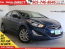 Used 2016 Hyundai Elantra Sport| BACK UP CAMERA| SUNROOF| TOUCH SCREEN| for sale in Burlington, ON