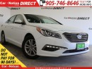 Used 2017 Hyundai Sonata GL| BACK UP CAMERA| TOUCH SCREEN| for sale in Burlington, ON
