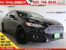 Used 2014 Ford Fusion SE| NAVI| LEATHER| SUNROOF| ECOBOOST| for sale in Burlington, ON