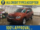 Used 2012 Jeep Compass SPORT*4x4*KEYLESS ENTRY*POWER WINDOWS/LOCKS/HEATED MIRRORS*ROOF RAILS*ALLOYS*STEERING WHEEL CONTROLS*AM/FM/CD/AUX*CRUISE CONTROL*FOG LIGHTS* for sale in Cambridge, ON