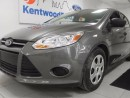 Used 2014 Ford Focus MANUAALLL!!!! woot woot! Shiny and grey and it will make your day for sale in Edmonton, AB