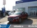 Used 2017 Hyundai Elantra GLS Sunroof Heated Seats Blind Spot Detection for sale in Edmonton, AB
