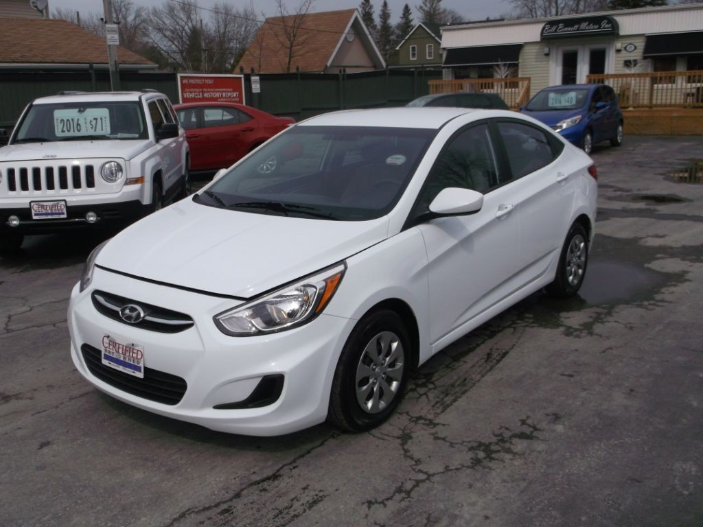 Used 2016 hyundai accent se 500 rebate internet sale for for Hyundai motor finance pay bill