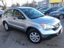 Used 2008 Honda CR-V AUTOAIR/LOADED/ALLOYS for sale in Scarborough, ON