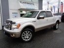 Used 2011 Ford F-150 King Ranch Crew 4x4, Leather, Sunroof, 1 Owner for sale in Langley, BC