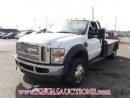 Used 2009 Ford F550 4WD  FLAT DECK for sale in Calgary, AB