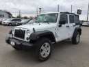 Used 2011 Jeep WRANGLER UNLIMITED SPORT * 4WD * BLUETOOTH * SAT RADIO SYSTEM for sale in London, ON