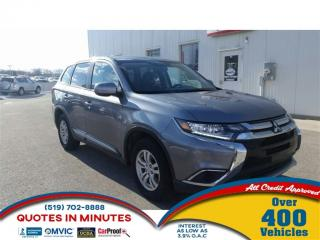 Used 2016 Mitsubishi Outlander ES | AWD | HEATED SEATS | FAMILY READY for sale in London, ON