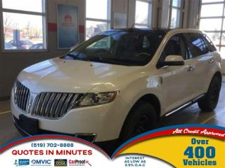 Used 2012 Lincoln MKX AWD | NAVIGATION | DVD | LEATHER for sale in London, ON