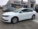 Used 2015 Chrysler 200 LX..Only 23000Kms for sale in Burlington, ON