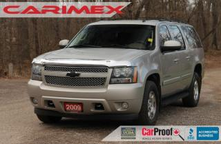 Used 2009 Chevrolet Suburban LT 7 Passenger + DVD + Sunroof + Leather for sale in Waterloo, ON