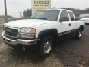 Used 2003 GMC Sierra 1500 SL 4X4, EXT CAB for sale in Orono, ON