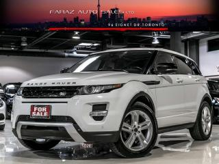 Used 2013 Land Rover Evoque DYNAMIC|NAVI|360CAM|PANO|LOADED for sale in North York, ON