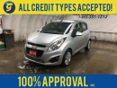 Used 2015 Chevrolet Spark LT*CVT*LEATHER SEATS*KEYLESS ENTRY*MY LINK PHONE CONNECT*POWER WINDOWS/LOCKS/MIRRORS*AM/FM/XM/AUX/USB/BLUETOOTH*ALLOYS* for sale in Cambridge, ON