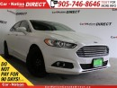 Used 2013 Ford Fusion SE| LEATHER| NAVI| AWD| ECOBOOST| for sale in Burlington, ON